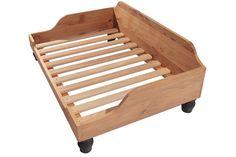Berkeley Wooden Dog Bed