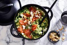 Broccolistamppot met gerookte zalm (ADVERTORIAL) - Recept - Allerhande