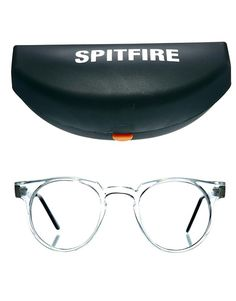 cb6c12ef38 Spitfire Round Glasses With Clear Lens at asos.com
