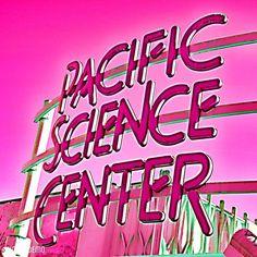 I like this photo: 80s flava. #80s #1980s #retro #retro80s #neon #colorpink #pacificsciencecenter #seattlecenter #seattle #wa #thegreatnorthwest #thegreatnw #pnw #igers_seattle