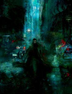 Blade Runner (1982) by artist Christopher Shy