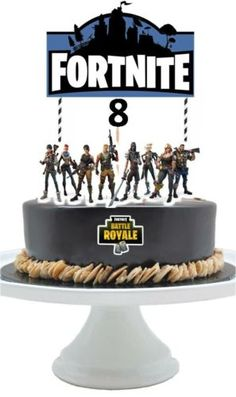 Cake Toppers 183341 Fortnite Topper Party Supplies Decorations Age Optional BUY IT NOW ONLY 1899 On EBay