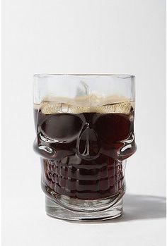 Skull stein glass from Urban Outfitters. I will drink out of this everyday till I die.