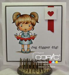 Copic Marker Sweden: THEME - Valentine's Day - Skin E11-21-00-000-R11-20 Hair W5-3-E35-33-30-23 Hearts T5 E19-08-R27 Dress / shoes BG75-72- (71) -70
