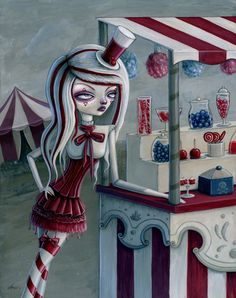 - 2011 - Carny candystand