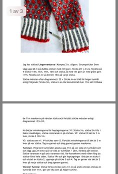 Knit Mittens, Knitting Charts, Loom, Gloves, Sewing, Crochet, Knits, Crafts, Inspiration