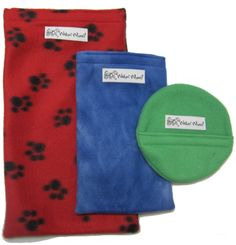 All sizes Hot and Cold Pup Packs- hot and cold therapy for pet rehabilitation