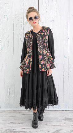 НОВЫЕ ОБРАЗЫ Boho Fashion, Kimono Top, Vest, Feminine, Bohemian, Clothes For Women, How To Wear, Jackets, Outfits