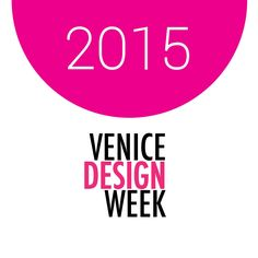 Venice Design Week 2015 catalog  Catalog VDW2015 main events and designers