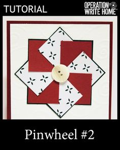 Pinwheel design - great for scraps. #tutorial