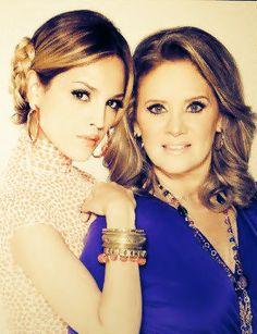 Erika Buenfil #Victoria & Eiza Gonzales #Nicol en #AmoresVerdaderos