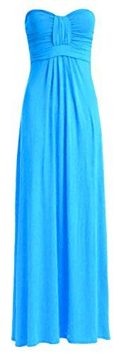 New Trending Formal Dresses: Crazy Girls Womens Boobtube Knot Front Bow Bandeau Maxi Long Dress (S/M-US6/8, Turquoise). Special Offer: $7.04 amazon.com Standard Sizes: S/M (US6/8), M/L (US10/12), L/XL-US14/16-UK16/18, US18/20- UK20/22, US22/24-UK24/26Boobtube Knot Front Bow Bandeau Maxi Long DressLength… 135 cm (Approx.)95% Polyester 5% Elastane