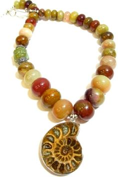 Necklace from Blue alligator designs