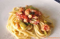 Pasta+zucchine+e+gamberetti
