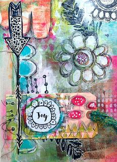 Art Journal page by Roben-Marie Smith | by Roben-Marie