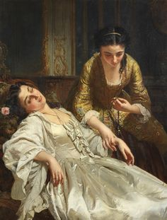 Henri Guillaume Schlesinger (French, 1814-1893) The Five Senses Lesbian Art, The Five, The Empress, Rococo Style, Art Academy, Bond Street, Art Club, French Art, Oil On Canvas