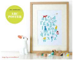 We hebben weer iets heel erg moois voor je gemaakt; een ABC poster ! Eefje maakte deze poster voor de babykamer van haar te verwachten kindje. De mooie print hangt al een tijdje aan de muur te wachten op de komst van de baby. Wij vonden de poster zo leuk dat we hem... #abcposter #download #gratis