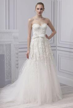 Wedding Dress  Monique Lhuillier 2013 Collection