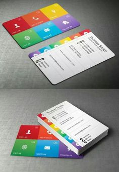 A collection of attention grabbing neon business cards business business cards reheart Gallery