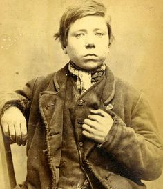 Mugshots of young Victorian tearaways