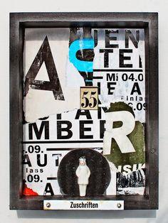 mano kellner, project 2014, wunderkammer nr 18, 55 zuschriften (sold)