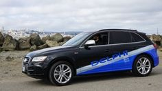 Ein Delphi-Testauto für autonomes Fahren