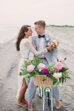 This gorgeous boho beach-inspired wedding is a stunning way to celebrate your big day.