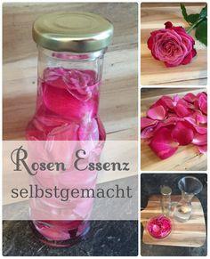 Selbstgemachte Rosen Essenz - ganz einfach und schnell