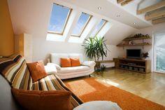 Design interior pentru mansarda