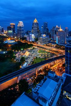 Bangkok Skyline2 by porbital  // We compare the price and many hotels to help you find the best offer http://www.world-traveler.info/