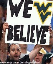 Even when the nation didn't, WE believe!