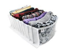 Organizador de lenços - 9 divisórias *