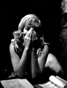 Marilyn Monroe photographed by Eve Arnold during the filming of The Misfits in 1960