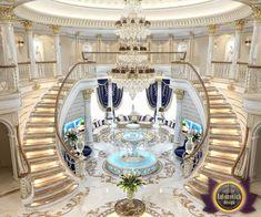Living Room Design in Dubai, Royal Living Room Interior, Photo 5