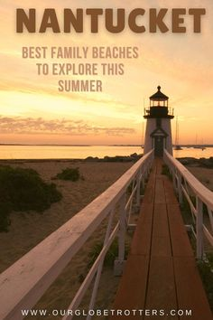 Don't miss these sensational destinations in Nantucket this summer | US beach vacation | family vacation ideas | Our Globetrotters Family Travel Blog Us Beach Vacations, Best Family Vacation Destinations, Best Family Beaches, Vacation Ideas, Nantucket Beach, Surfside Beach, New England Travel, Water Tower, Family Adventure