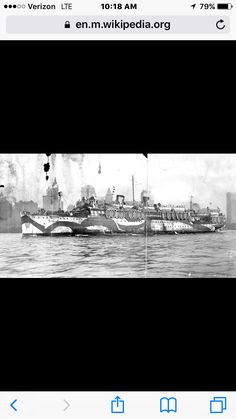 USS Siboney - US transport ship returning from France at the end of WWI.