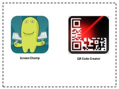 How to Create a QR Code From a Screen Chomp Activity