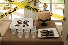 Detective Party: This awesome birthday party included detective training, disguises, great food and a real mystery to solve!