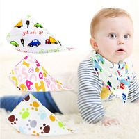 Feeding Baby Bibs Girl Bandana Bib Burp Cloth Triangle Cotton Baby Scarf Promoting Health And Curing Diseases