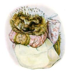 Mrs. Tiggy-Winkle My Favorite child hood character. by jeanette