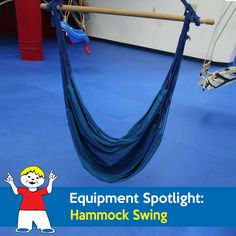 The Hammock Swing acts much like the tunnel in giving children a pressure… Sensory Equipment, Play Equipment, Hammock Swing, Autism Spectrum, Sensory Play, Rock, Children, Fabric, Young Children