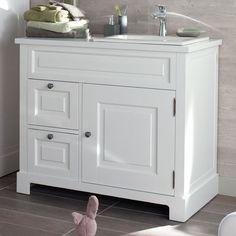 Modèle COTTAGE L.100 cm  -  Ensemble de meuble de salle de bains - Lapeyre