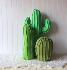 Cactus en feutrine