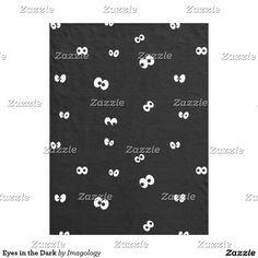 Eyes in the Dark Fleece Blanket Cozy Blankets, The Darkest, Fun Stuff, Eyes, Fun Things, Cat Eyes