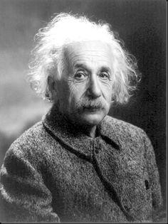 Albert Einstein in 1947.