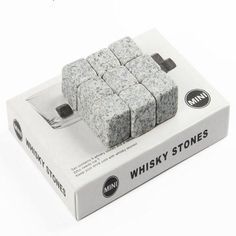9  Whisky Ice Cube Stones Soapstone
