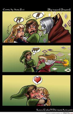 I love you, Zelda