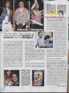 """Mika """"Un Turista A Venezia Mi(k)a Male"""" - Diva e Donna magazine - Nov 19 2013 - Italian - page 3 of 3"""