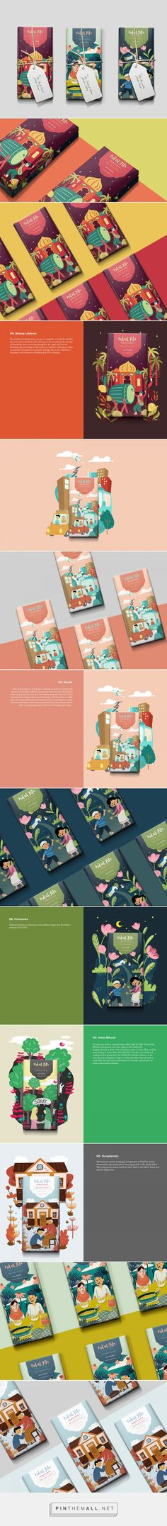 Lebaran Nyok! Chocolate Bars / Designed by Nero Graphic Atelier