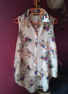 Kup mój przedmiot na #vintedpl http://www.vinted.pl/damska-odziez/bluzki-bez-rekawow/12739445-mgielka-atmosphere-42-jak-nowa-bezrekawnik-kwiaty